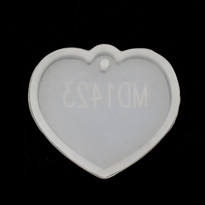 Round Square Star Bowtie Shape Pendant Craft DIY Silicone UV Resin Jewelry Molds