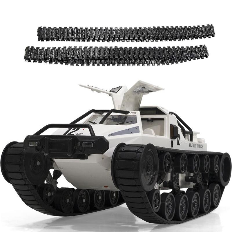 1:12 RC Tank Car 2.4G High Speed Full Proportional Control Vehicle Models Wading Depth With Gull-wing Door Metal Crawler