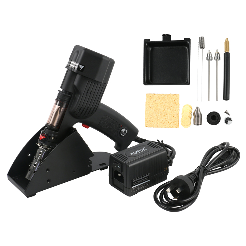 AOYUE 8800 Handheld 100W 80KPA Electric Vacuum Desoldering Pump Solder Sucker Gun-in Electric Soldering Irons from Tools    1