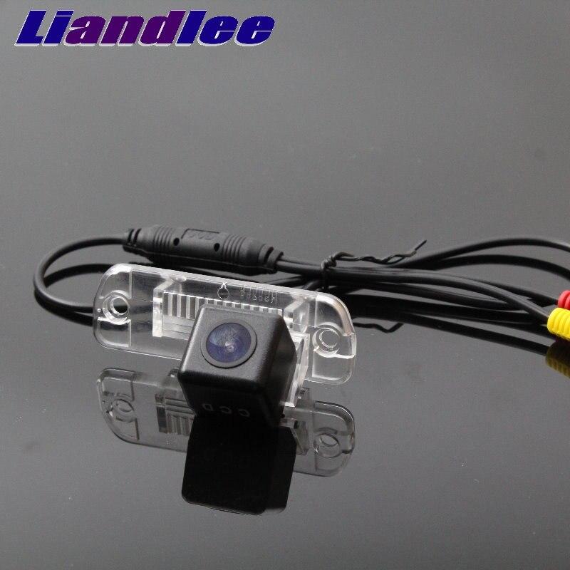 Liandlee caméra de recul de voiture pour Mercedes Benz M ML W166 caméra de recul de Vision nocturne caméra de sauvegarde de voiture HD CCD