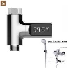 Display led casa chuveiro de água termômetro temperatura medidor monitor cozinha banheiro cuidados com o bebê água led temperture