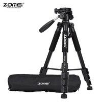 ZOMEI Q111 Tripod 142cm/56 Lightweight Portable Aluminum Alloy Camera Tripod with Quick Release Plate for Canon Nikon Sony