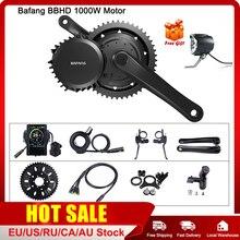 Bafang 48V 1000W Bbshd/BBS03B Mid Drive Motor Elektrische Bb 68 73Mm Fiets Conversie Kits 8FUN E Bike Krachtige Motor Display