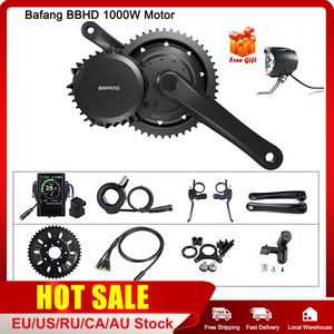 Image 1 - Bafang 48v 1000w bbshd/bbs03b mid drive motor elétrico bb 68 73mm kits de conversão de bicicleta 8fun e bike poderosa exibição do motor