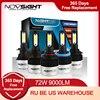 NIGHTEYE Super Bright Car Headlights H7 LED H4 led H8/H9/H11 HB3/9005 HB4/9006 Auto Bulb 72W 9000LM Automobiles Headlamp 6500K