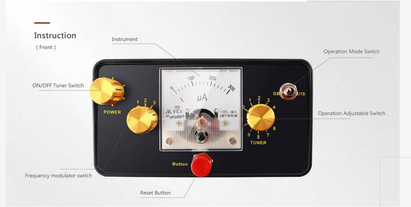 TC 30 Professionelle Unterirdischen Metall Detektor Gold Detektor Schatz Hunter Pinpointer Metall Detektor Verdrahtung Detektor - 3