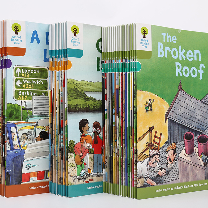 1 Набор 40 книг 7 9 уровень Оксфорд Чтение Дерево богаче чтение обучение Помощь ребенку читать акустику Английский история книга с картинками