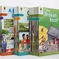 1 conjunto de 40 livros 7-9 nível oxford leitura árvore mais rica leitura aprendendo ajudando a criança a ler phonics inglês história imagem livro