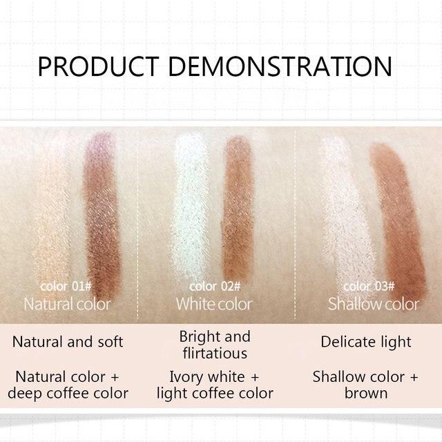 Bioaqua pro corretivo caneta rosto compõem líquido à prova dwaterproof água contorno fundação contorno maquiagem corretivo vara lápis cosméticos 2