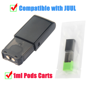 1Pcs Cartridge Replacement Pods 1ml Capacity Pod Vape Tank compatible with J U U L Pod System Device Pen Starter Kit image