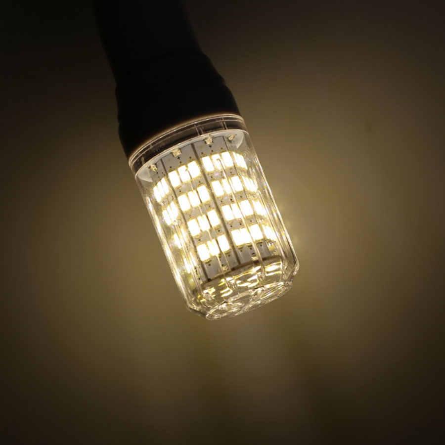 LED mısır rengi lamba ampul ışık E27 B22 GU10 G9 E14 27LED 7W 5730 SMD LED Spot Hiçbir Titreme Avize Işıkları