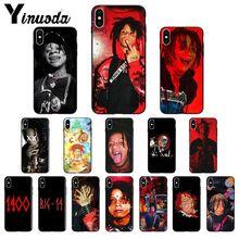 Yinuoda rapero Trippie redd cliente de alta calidad funda de teléfono para el iPhone de Apple 8 7 6 6S Plus X XS MAX 5 5S SE XR funda