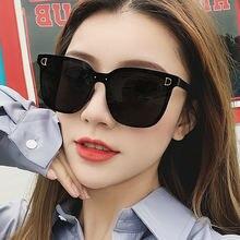 2020 Модные женские солнцезащитные очки в большой оправе стиле