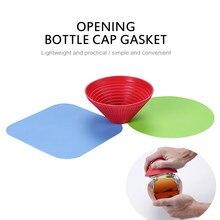 3 pçs multiuso casa silicone frasco abridor pote titular anti-skid garrafa aperto almofada multifuncional saca-rolhas ferramentas de cozinha
