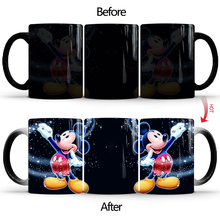 New 350ml Magic Mugs  Hot Drink Cup Color Changing Mug Platform 9 and 3/4 Train Ticket Wine Tea Creative Gifts