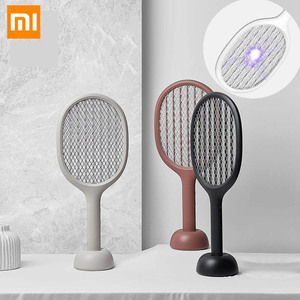 xiaomi электрическая Москитная щатетка P1 USB перезаряжаемая лампа -убийца комаров 2200 в портативная ракетка -Убийца мух товары для дома