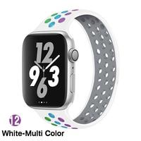 12 White Colorful