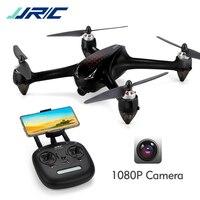 Dron sin escobillas JJRC X8 Quadcopter con GPS 5G WiFi FPV 1080P HD cámara Video, 30 km/h altitud Hold Headless RC Drone para adultos