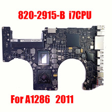 Logic-Board EMC A1286 Macbook for I7 CPU Pro 15-2417 820-2915-B