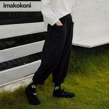 Оригинальные ретро штаны imakokoni hey er nao женские зимние