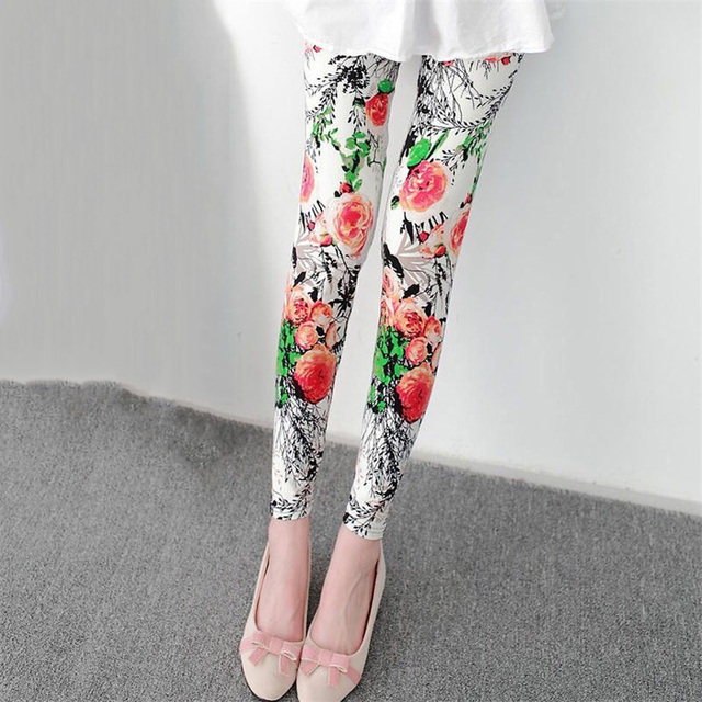 Summer Floral Leggings 8