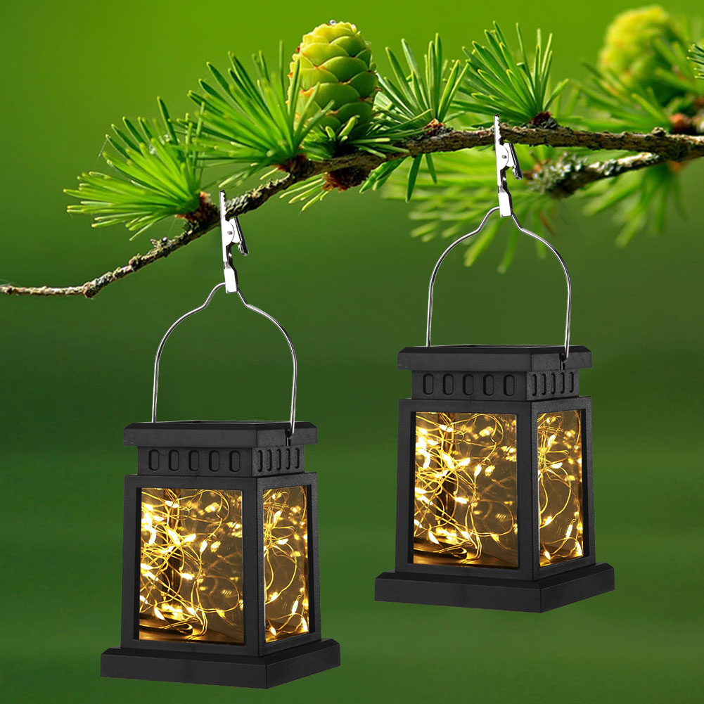 30 LED Solar Light Lantern Waterproof Yard Garden Decor Hanging Lamp Solar String Light Fairy Lamp Outdoor Landscape Lamp