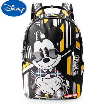 Original Disney Youth Schoolbag Large Capacity Backpack Burden Reduction And Wear Resistance Junior High School Students Shoulde rye time schoolbags boys and girls 2 4 6 years of load reduction girls 6 12 years burden reduction junior high children backpack