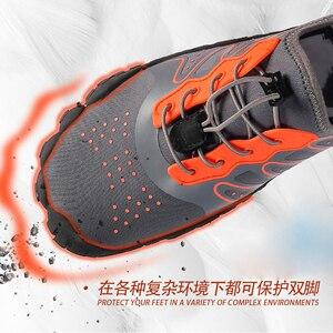 Image 3 - Mannen Vrouwen Duurzaam Wandelschoenen Sneakers Outdoor Klimmen Trekking Sport Footwear Antislip Platte Schoenen Unisex Waden Water Sneakers