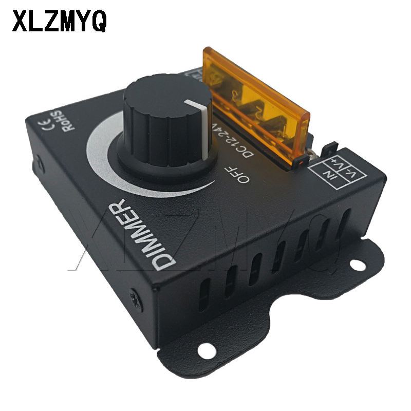 lampada tira driver unica cor luz controlador 02