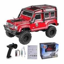 Rgt 136240 v2 1/24 2.4g 2ch 4wd mini rc carro 15km/h controle de rádio rc rock crawler fora-estrada veículo modelo brinquedos presente para crianças