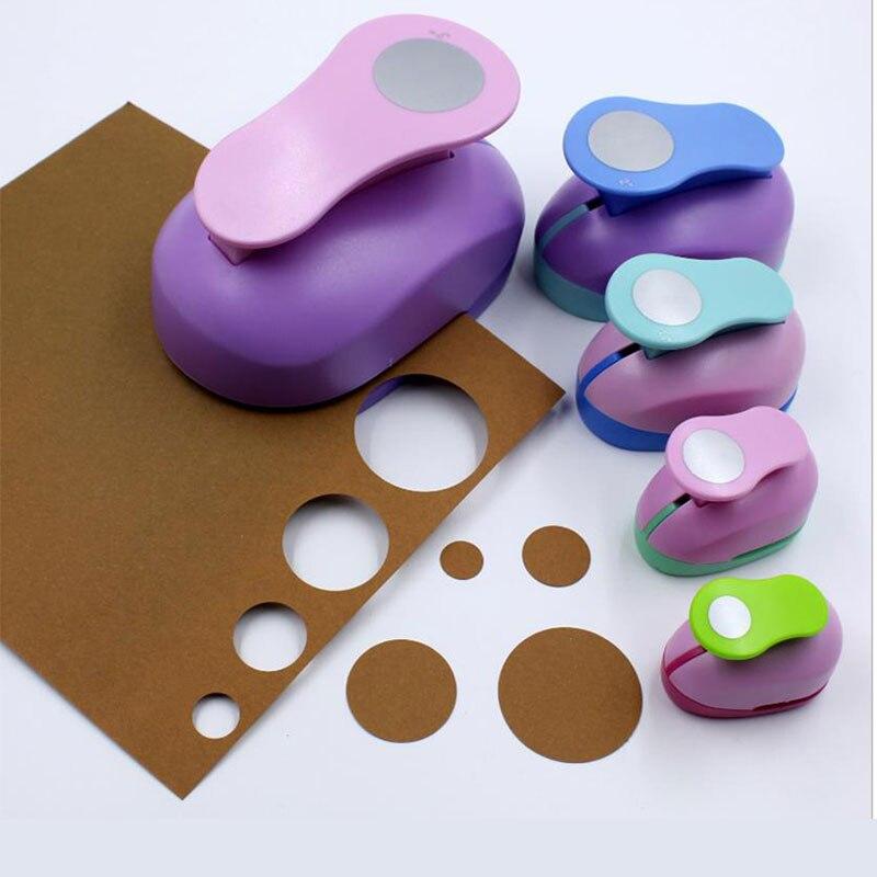 4 шт./лот 9- 38 мм круглый Дырокол DIY, дырокол для бумаги, резак для скрапбукинга, тиснение