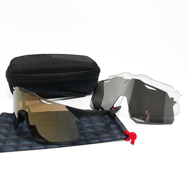 Óculos photochromic esportes ao ar livre ciclismo óculos de sol gafas ciclismo óculos esporte óculos de bicicleta velocidade 2