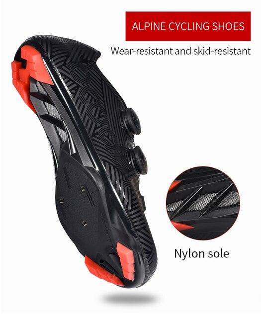 2019 nova bicicleta de estrada ciclismo sapatos ultraleve anti-skid resistente ao desgaste profissão auto-bloqueio sapatos esportes ao ar livre sapatos de bicicleta 6