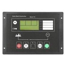 Generator Control Module Controller, DSE710 Generator Auto Start Control Panel for Deep Sea Electronics Spare Parts, Auto Manual generator set auto start controller module 703 dse703