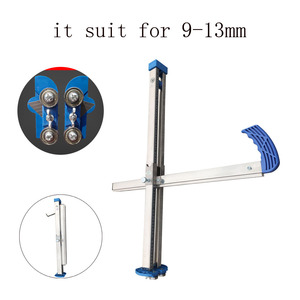 New Manual High Accuracy Gypsum Board Cutter Hand Push Drywall Cutting Artifact Tool it suit for 9-13mm Plasterboard