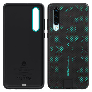 Image 3 - CNR216 UVT Qi 10W Original HUAWEI P30 Wireless Charge Case Magnetic Back Cover Supports Car Mount ELE L09/L29