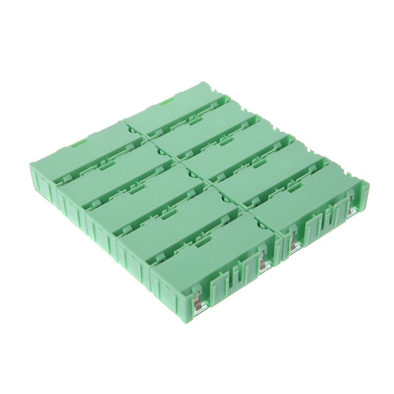 Mini SMD SMT Electronic Box IC Electronic Components Storage Case 75x31.5x21.5mm D08F