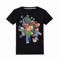 Футболка для мальчиков с принтом «Миньоны» футболка «Legoe» футболка для маленьких мальчиков «Ninjago» Детская летняя одежда с короткими рукава...