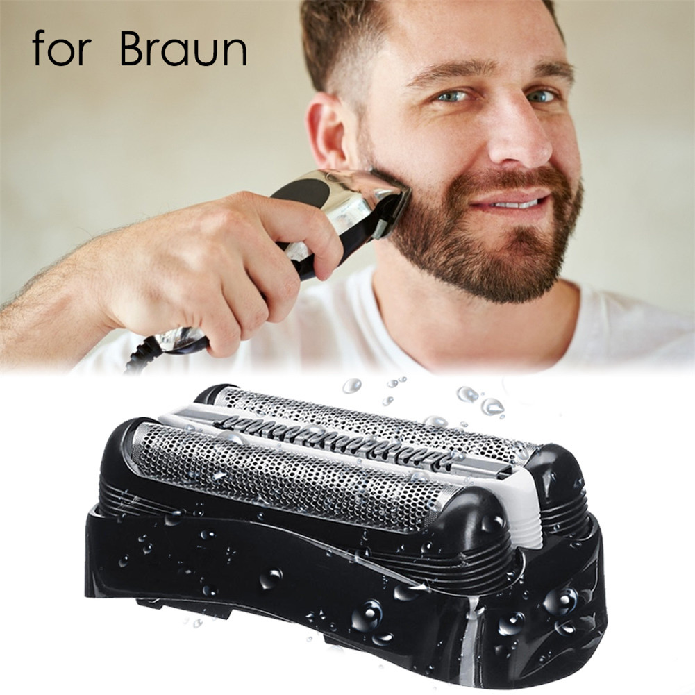 Shaver Replacement Head Razor Accessories Compatible With Models <font><b>3000s</b></font> 3010s 3040s 3050cc 3070cc 3080s 3090cc For <font><b>Braun</b></font> Series <font><b>3</b></font> image