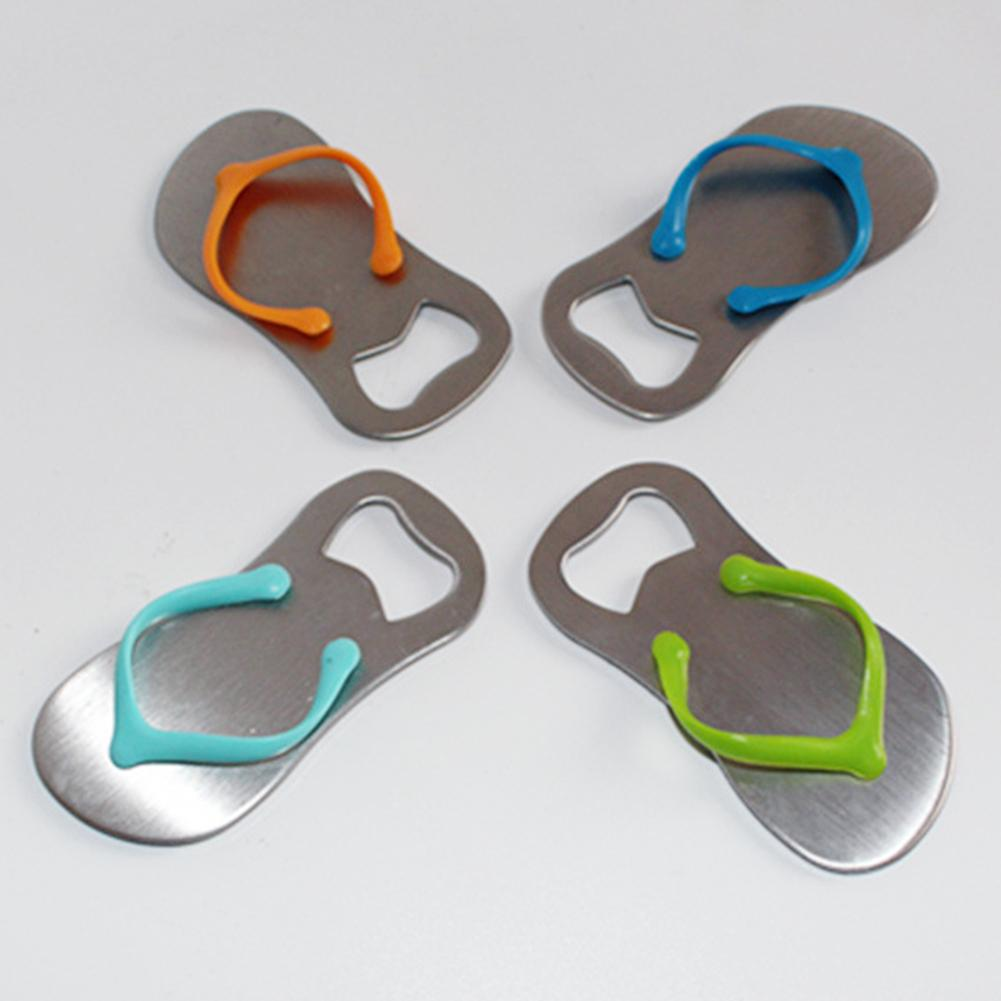 Anti-rust Personality Stainless Steel Slipper Shape Cap Beer Wine Bottle Opener Kitchen Bar Tool Decor Kitchen Bar Helper
