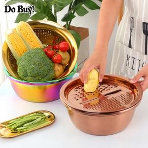 3 Pcs/Set Vegetable Slicer Dra
