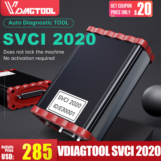 $ US $128.77 VDIAGTOOL FVDI 2020 ABRITES Commander Diagnostic Scanner SVCI2014 Odometer Correction Key Programmer Unlimited With 21 Softwares