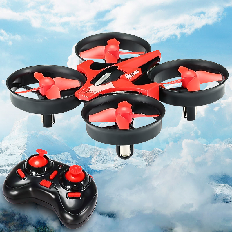 Eachine E010 Mini Drone 2.4G 4CH 6 Axis 3D Headless Mode Geheugenfunctie Rc Quadcopter Rtf Tiny Gift Present kid Speelgoed 6