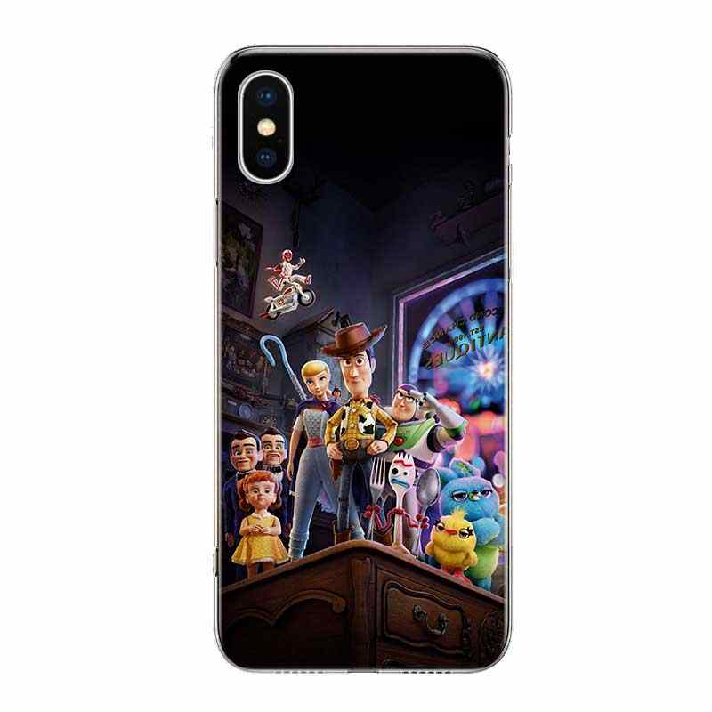 Uyellow Toy Story 4 Buzz Модный чехол для Iphone 5 6S 7 8 9 10 Plus силиконовый мягкий чехол для телефона Apple X XR XS MAX Coque Shell
