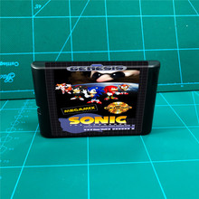 Sonic Megamix   16 bit MD Games Cartridge For MegaDrive Genesis console