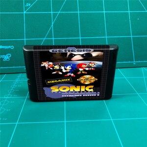Image 1 - Sonic Megamix   16 bit MD Games Cartridge For MegaDrive Genesis console