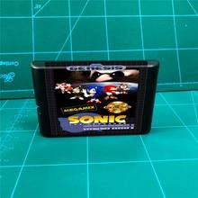 Sonic Megamix MegaDrive Genesis 콘솔 용 16 비트 MD 게임 카트리지