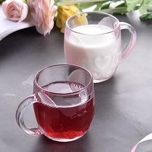 Lovwish 2 штуки Стекло чашка для завтрака с защитой от ожогов