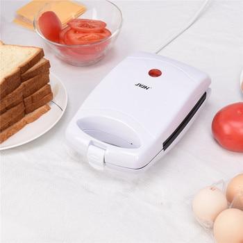450W Non Stick Coating Sandwich Maker Electric Baking Light Breakfast Machine Waffles Panini Grill Sandwich Presses Fast Heating