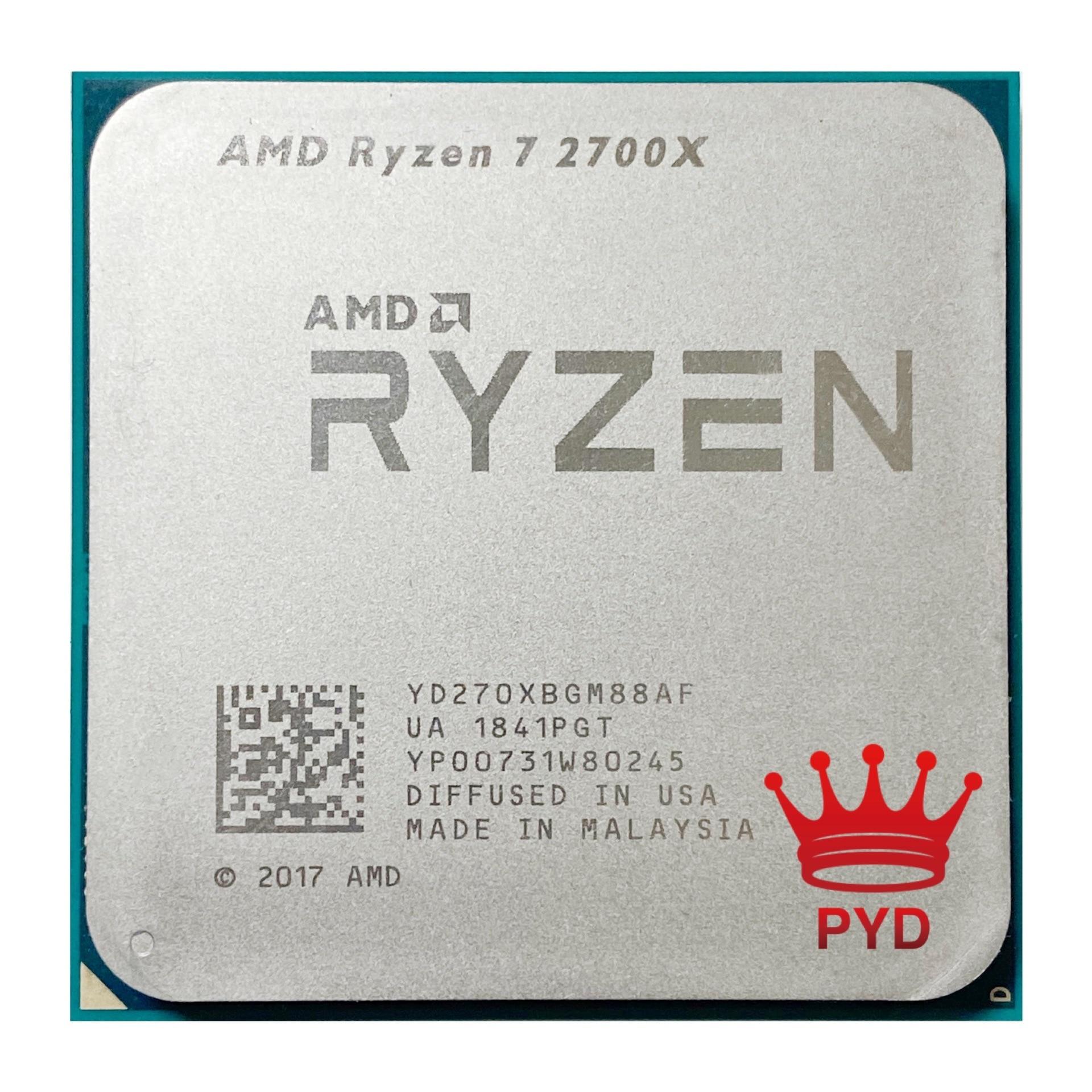 [해외] AMD RYZEN 7 CPU 프로세서 2700X R7 3.7GHZ 에잇 코어 식스틴 스레드 6M 05W 소켓 - AMD RYZEN 7 CPU 프로세서